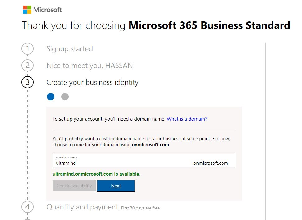 Get SharePoint Online and PowerBI Services Step 5